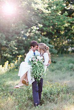 Rustic bohemian summer wedding   Candace Berry Photography on @glamourandgrace via @aislesociety