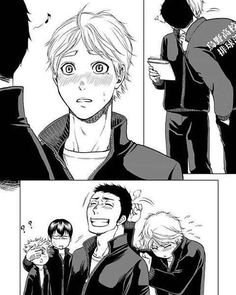 Kageyama and Hinata in the background though