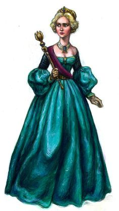 Early Victorian Elsa by suburbanbeatnik.deviantart.com on @deviantART Frozen is set in the 1840s. This is a more historically accurate portrayal of Elsa's coronation outfit.