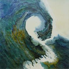 """Saatchi Art Artist: Lia Melia; Paint 2013 Painting """"Ikon- sold"""""""