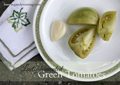 Lots of green tomatoes? Fermentation is a great way to preserve the harvest and add probiotics to your diet. And making fermented green tomatoes is easy.