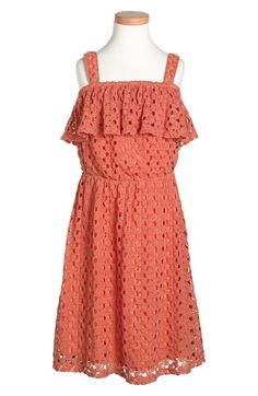 Mia Chica Sleeveless Lace Dress (Little Girls & Big Girls) available at #Nordstrom