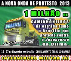 Brasil-Movimento dos caminhoneiros '15-17 de novembro'-2013-A nova onda de protesto 2013