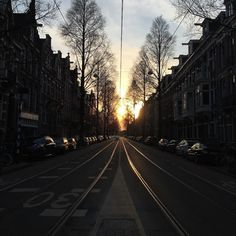1st weekend in Amsterdam NL #NL #sunset by eagle007