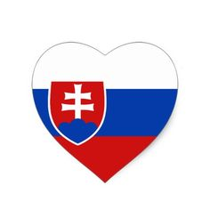 Shop Slovakia Flag Heart Sticker created by FlagAndMap. Slovakia Flag, Political Events, Flags Of The World, National Flag, Coloring For Kids, Custom Stickers, Icon Design, Activities For Kids, Banner