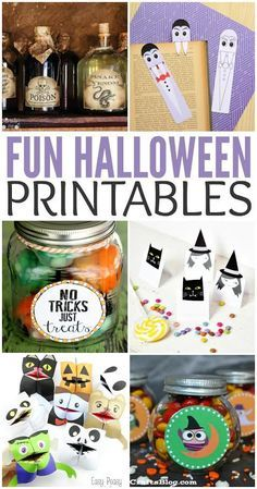 Looking for some fun and free Halloween printables for kids? Check out these fun Halloween printables!