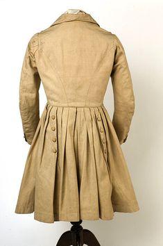 Ca. 1830s-1840s Boy's Nankeen Frock Coat via Ebay Vintage Outfits, Vintage Girls, Mode Masculine, Victorian Fashion, Vintage Fashion, Classic Fashion, Coat Style For Man, Historical Clothing, Historical Dress