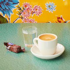 Dike's Frozen Snickers, Grappa and Espresso.