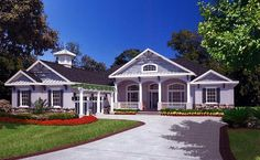 House Plan 53499 | Plan with 2654 Sq. Ft., 4 Bedrooms, 3 Bathrooms, 2 Car Garage at family home plans