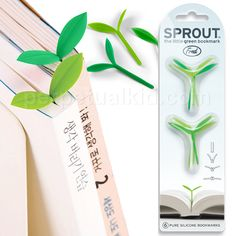 Sprout bookmarks, perfect for spring reading!