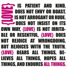 Love is Patient - #Valentine's Day Free Printable by hattie