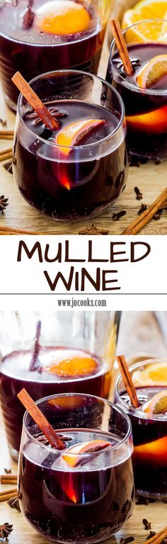 Mulled Wine - a simple recipe that's sure to warm you during the holidays season! So if you're looking to party like it's 1899, nothing beats this traditional winter cocktail.