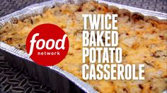 Make your twice-baked potato the star of the show by loading it up with bacon, cheese and green onions, then cooking it as a casserole.