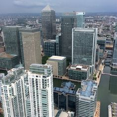A view from #metpolice #helicopter of the #IsleofDogs and #canarywharf. #london #banking #city #finance #buildings #photo #follow #instalike