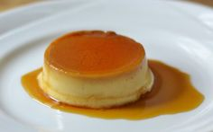 Coconut Flan With Caramel Sauce [Vegan, Gluten-Free]. This creamy, dreamy flan, served with a drizzle of sweet caramel sauce, is the perfect dessert for the holidays! Gluten Free Desserts, Dairy Free Recipes, Dessert Recipes, Vegan Recipes, Vegetarian Desserts, Mexican Desserts, Filipino Desserts, Vegan Vegetarian, Paleo