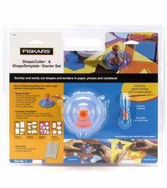 Fiskars® ShapeCutter Starter Sets