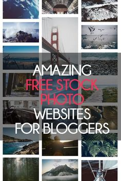 Are you a blogger? Ebook writer? Always looking for incredible (and FREE) images for your website? I've found the best websites to get free images online to use for your stock photo needs.