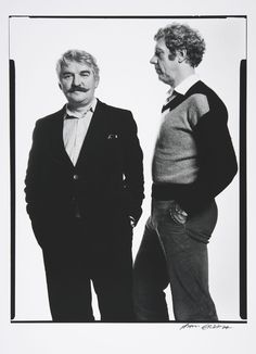 Hans Alfredson and Tage Danielsson - Nationalmuseum