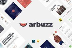 Arbuzz UI Kit   @creativework247