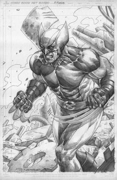 Wolverine by Michael C. Sta. Maria