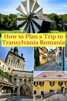 How to Plan a Trip to Transylvania Romania | #Travel #Romania | #Transylvania Romania Travel | Travel #EasternEurope