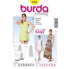 B7056 - Burda Style Dress