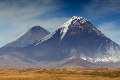 Ключевская группа вулканов, Камчатка Россия, Фото, Природа