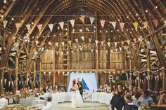 More Bunting and lighting ideas