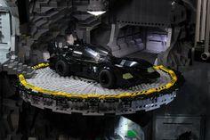 Massive LEGO Batcave - Incredible
