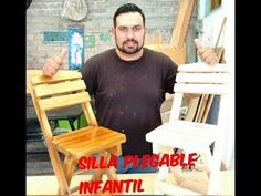 Haciendo Una Silla Plegable Paso a Paso (Nueva Forma) - YouTube Diy Furniture Videos, Furniture Plans, Outdoor Chairs, Outdoor Furniture, Outdoor Decor, 3d Photo, Beach Chairs, Chipboard, Picnic Table