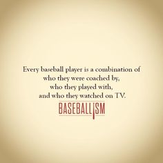 Who you are baseball baseballism