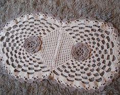 Tapete de Crochê Flor