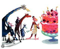 """Alice Hoogstad  """"Vriendjes boos en blij""""  geschreven door Hans Kuyper met illustraties van Alice Hoogstad"""