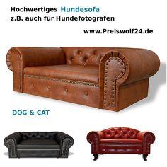Schöne Hundebetten hundesofa chesterfield recamiere antik kaffee hundebett