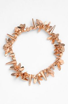"""""""layers of love"""" bead stretch bracelet from Nordstrom!  great for layering.  Comes in gold, rose gold, and silver!"""
