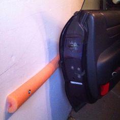 Pool Noodle Car Door Guard-