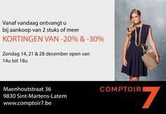 #comptoir7 #fashion #mode #kleding #fw14 #winter2014 #koppelverkoop #latem #gent #maliparmi