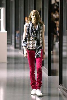 """2005 Spring & Summer """"beck"""" Dior Homme by Hedi Slimane"""