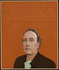 Bruce Gagnon Portrait by Robert Shetterly