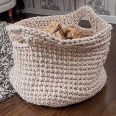 Aufbewahrungskorb « Schönes für Zuhause « Häkelmodelle « Stricken & Häkeln im Junghans-Wolle Creativ-Shop kaufen