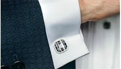 How To Wear Cufflinks For Work     Most of us don't have to wear cufflinks for work, but I know for a fact that some of you has to. If you have a strict dress code to adhere to when you're in the office, here are some tips on how you can boost up a simple (and probably boring) office look into a stylish one, by wearing a pair of awesome cufflinks.