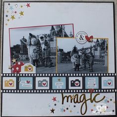 Magical Scrapworld: Simples stories say cheese II, published Cards & Scrap # 21