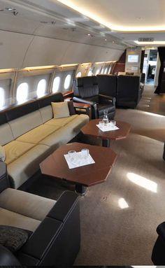 Private Plane Gentleman's Essentials Luxury Jets, Luxury Private Jets, Private Plane, Avion Jet, Airplane Interior, Jet Privé, Private Jet Interior, Aircraft Interiors, Luxe Life