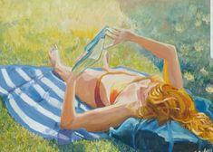 #Sommer #Sonne #Kunst #Gemälde #Einrichtung #lesen Disney Characters, Fictional Characters, Etsy Seller, Art, Painted Canvas, Sun, Word Reading, Kunst, Fantasy Characters
