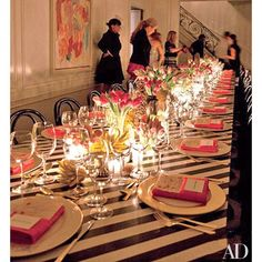Kelly Wearstler shares her tried-and-true hosting tips | Architectural Digest