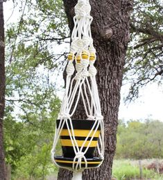 Gardening Decor – Make your garden beautiful Hanging Flower Pots, Painted Flower Pots, Hanging Planters, Painted Pots, Terra Cotta, Chainmaille, Fisher, Rope Decor, Pot Hanger