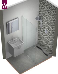 Bathroom design very small bathroom - Badkamer ontwerp hele kleine badkamer Bathroom design very small bathroom -