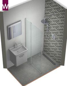 Badkamer ontwerp hele kleine badkamer