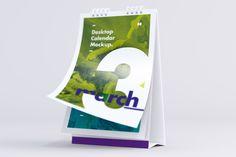 Get the Desktop Portrait Calendar Mockups, 6 #PSD #Mockups only for $9.00 on @originalmockups