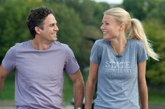 Gwyneth Paltrow and Mark Ruffalo in Thanks for Sharing